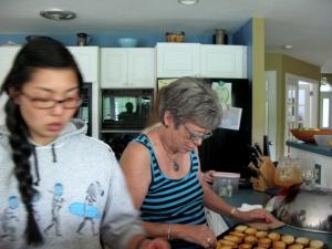 Sydney and her mom, Bev